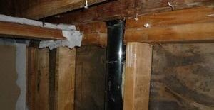 Interior Wall Reconstruction After A Pipe Burst